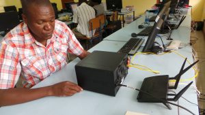 Synology DiskStation at Siavonga High School
