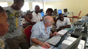 training zambian teachers