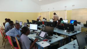 training zambian teachers