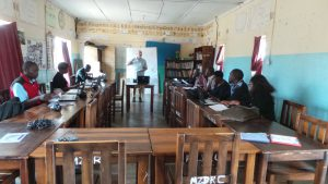 training in Monze Resource Centre