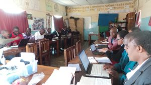 training at Monze Resource centre