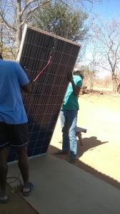 Dambilo Solar install 2