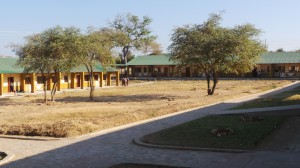 Exterior of Siavonga High School