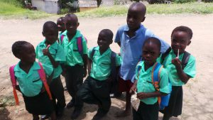 pupils at bbakasa