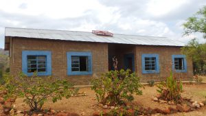 Kabbila Primary School with solar panels on roof
