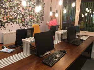 computers supplied to Roots Foundation