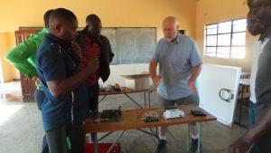 Explaining parts of solar set up