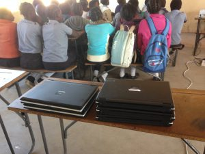 donated laptops