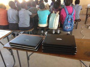donated laptops