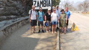 Giakonda Solar Schools volunteers visit Kariba Dam