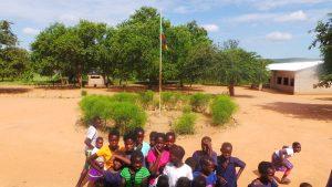 Pupils at Manchamvwa Lakeshore