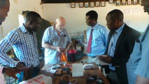 Staff at Munyama