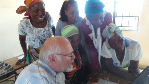 ladies reading in Chitonga