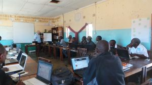 Technical Training at Monze Resource Centre