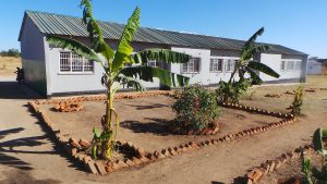 new school block at Lushomo