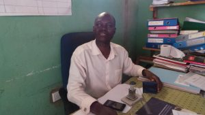 Head teacher Katalumba