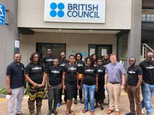 Zambian teachers at British Council