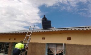 panels going up