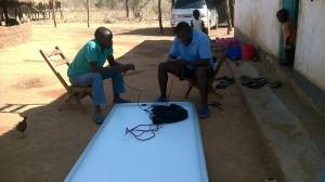 Dambilo Solar install 1