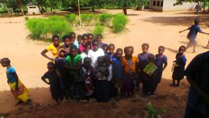 Children at Manchamvwa Lakeshore Primary School